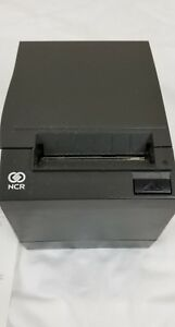 2 Ncr Realpos 7197 Thermal Receipt Printer Model 7197 2001 9001 Qty