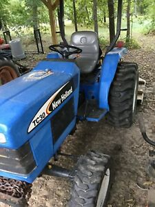 2005 New Holland Tc30 Tractor And Brush Cutter