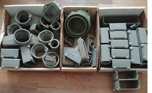 Walker Floor Duct Conduit In Slab Concrete Electrical Fitting Lot New Adapter