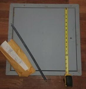 16 X 16 In Metal Wall Ceiling Access Panel Door Brand New Fire Proof New Rated