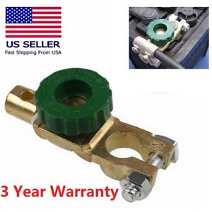 Car Battery Link Terminal Quick Cut Off Disconnect Master Kill Shut Switch