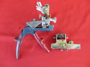Vtg Curtis Model 15 Key Clipper Cutter 10 Cut Cam Ford 3 Carriage Look 1392