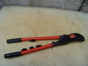 T b Thomas Betts Tbm5 Wire Cable Crimper Works Fine