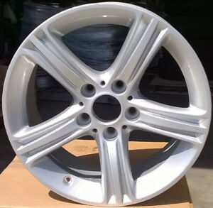 Set Of 4 Professionally Refurbished Oem Bmw 17 17x7 5 Alloy Wheels Rims 393