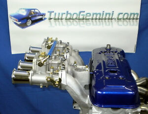 Gemini Twin Reproduction Weber 45dcoe Carbs Manifold Kit 45 Dcoe Carbys Rodeo