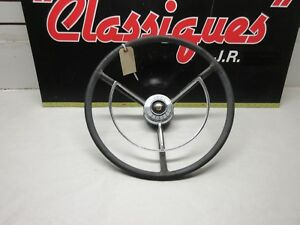 1958 Ford Fairlane And Custom Car Steering Wheel With Horn Ring