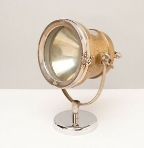 Rare E j Brass Headlight Or Marine Search Light Model 3600 Edmunds Jones