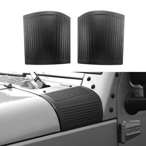 Cowl Cover Body Armor Corner Guard Cover Black For Jeep Wrangler 07 18 Jk Jku