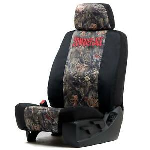 Universal Canvas Low Back Bucket Seat Cover W headrest Cover