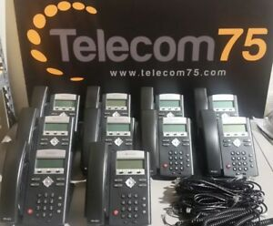 Lot Of 10 Polycom Soundpoint Ip 335 Hd Excellent Condition