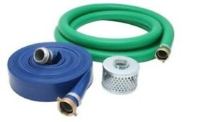 3 Inch Pvc Suction And Discharge Pump Hose Kit 3 Male X Female Npsm