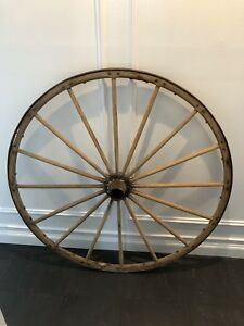 Antique Wagon Wheel 45 Diameter