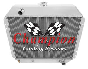 3 Row Ace Champion Radiator For 1978 1979 Ford Bronco Chevy Conversion