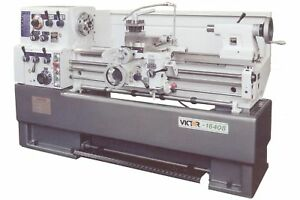 Victor 16 X 40 Precision Heavy Duty High Speed Lathe With Special Package