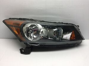 2008 2009 2010 2011 2012 Honda Accord Oem Halogen Right Passenger Side Headlight