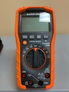 Klein Tools Auto ranging Digital Multimeter 1000v 10a 40m True Rms Mm700 New