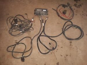 Western Ultra mount Fisher Minute Mount 2 Wiring Plow Dodge Ford Chev