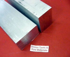 2 Pieces 2 X 3 Aluminum 6061 Flat Bar 18 Long T6511 Solid Plate Mill Stock