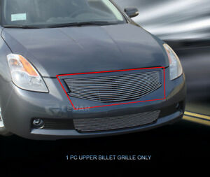 Replacement Billet Grille Front Upper Grill For 2008 2009 Nissan Altima Coupe