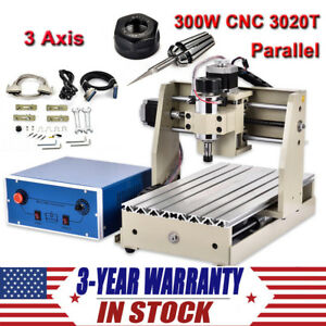 3 Axis Cnc 3020t Router Engraver Kit 3d Wood Working Engraving Milling Machine
