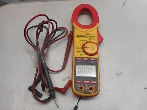 Sperry Instruments Dsa1020trms True Rms Digital Snap around Clamp Meter
