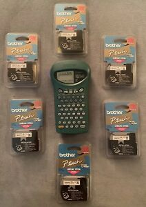 P touch By Brother Pt85 Thermal Label Printer W 6 Original Tapes