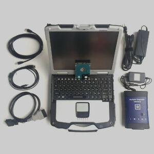D630 Laptop With Gm Mdi Diagnostic Scanner With Software Ready To Go Tech Usa