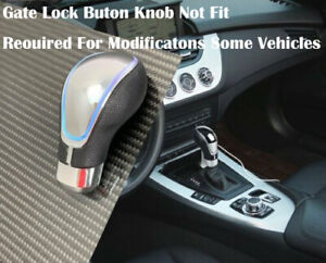 Touch Activated Sensor Led Gear Shift Knob Rgb Multi With Usb Charger J3
