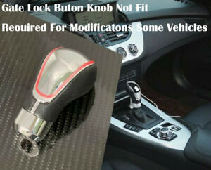 Touch Activated Sensor Led Gear Shift Knob Red With Usb Charger J1