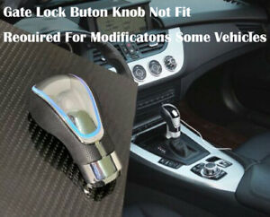 Touch Activated Sensor Led Gear Shift Knob White With Usb Charger J4