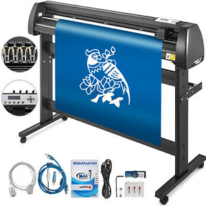 Vinyl Cutter Plotter Cutting 53 Sign Sticker Making Print Software 3 Blades Usb