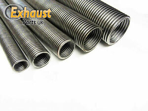 38mm 1 5 X 1m Heavy Duty Universal Flexible Stainless Flexi Tube Exhaust Pipe