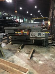 20 X 30 Hem Fully Automatic Band Saw With 60 Of Conveyors
