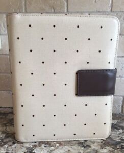 Franklin Covey Polka Dot Classic Binder