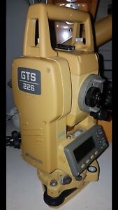 Topcon Gts 226 Surveying Total Station