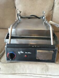 Star Pro Max Gr14sn Commercial Panini And Sandwich Grill Heavy Duty
