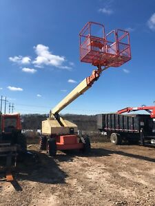 Jlg Lift 4x4 60h Telescopic Boom Rough Terrain Man Aerial Platform Lift 60 Ft