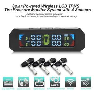 Color Lcd Tpms Car Tire Pressure Monitoring System With 4 Internal Sensors Ask