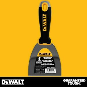 Dewalt Putty Knife 4 Stainless Steel Flexible Drywall Joint Paint Scraper