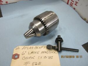 Atlas Craftsman 6 Lathe 3 Jaw Headstock Chuck 56b