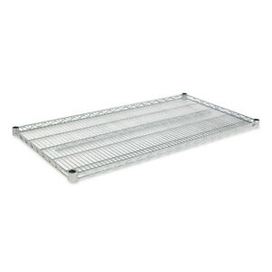 Alera Industrial Wire Shelving Extra Wire Shelves Silver 2 ctn Sw584824sr New