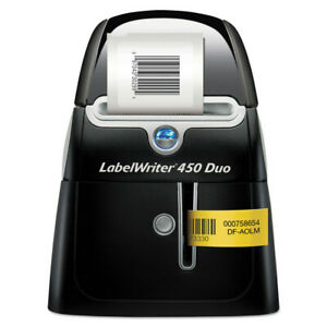 Dymo 1752267 Multi function Labelwriter 450 Duo Handheld Label Maker New