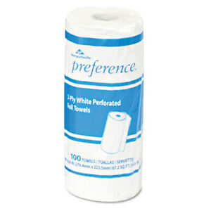 Georgia pacific Perforated Paper Towel 8 4 5x11 White 100 roll 30 ctn 27300 New