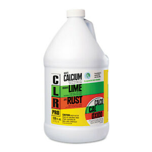 Jelmar Calcium Lime And Rust Remover 1 Gal Bottle 4 carton Cl4pro New