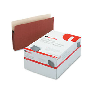 Universal One 3 5 Expansion File Pockets Straight Tab Legal 25 box 15161 New