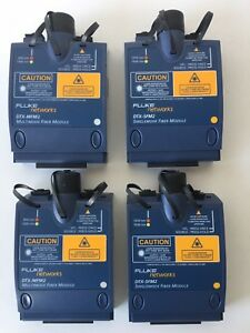 Fluke Dtx sfm2 Dtx mfm2 Sm Mm Fiber Modules For Dtx 1800 Warranty Fast Shipping