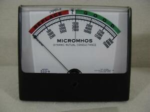 New Simpson Meter For Hickok 600a 533a 500 a 233 Ohms Wide view Meter