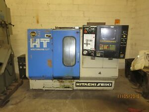 Seiki Hitachi Ht Hitec turn 20sii Cnc Lathe Turning Cell Center Machine Shop