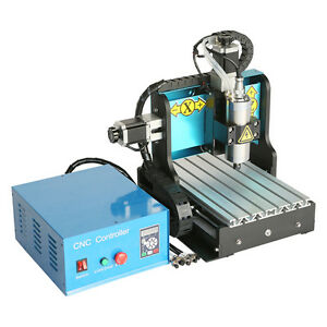 St 110v 800w 3 Axis 3020 Cnc Router Engraving Drilling Milling Machine Usb Port