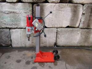 Milwaukee Core Drill Rig Core Bore Industrial Motor Works Fine